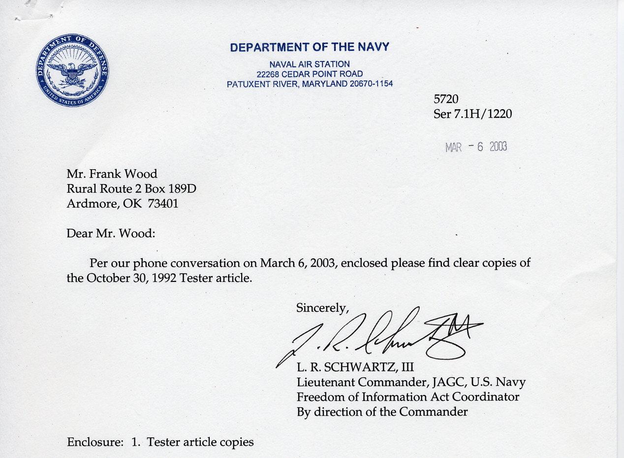 tester cover letter